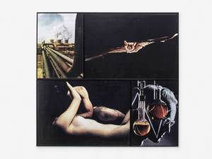 Marcus Kleinfeld, HOLLYWOOD, 2014 4 inkjet prints 121 x 128 cm