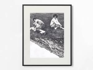 Marcus Kleinfeld, GRAVITY, 2013 Collage 50 x 40 cm