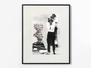 Marcus Kleinfeld, PANDORA, 2013 Collage 50 x 40 cm