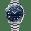 Omega Seamaster Planet Ocean 600M Co-Axial Blå Skive Stål 43,5 MM-215-30-44-21-03-001