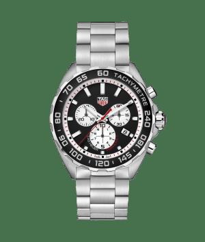 Tag Heuer Formula 1 Chronograph Quartz Sort-Hvit Skive 43 MM-CAZ101E.BA0842