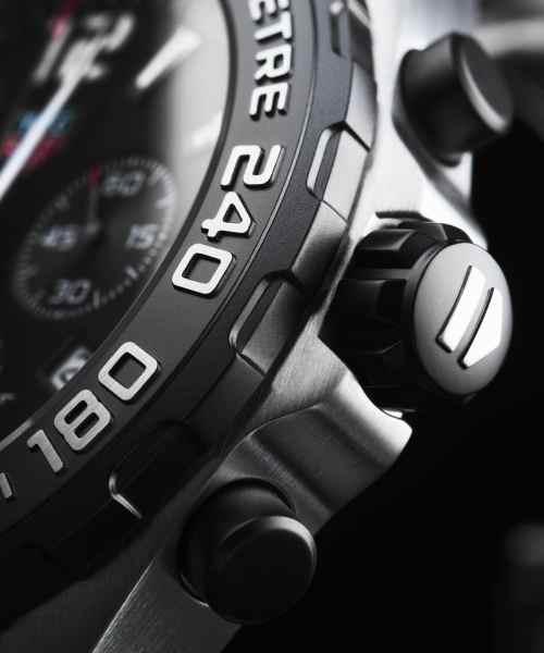Tag Heuer Formula 1 Chronograph Quartz Sort Skive Stål 43 MM-CAZ1010.BA0842 2