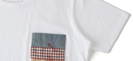 Clothing: Visvim Knotted Pocket Tee s/s *F.I.L. EXCLUSIVE @visvim_Now