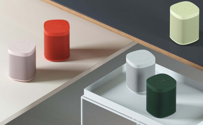 HAY & Sonos Create Colourful Limited Edition Speakers
