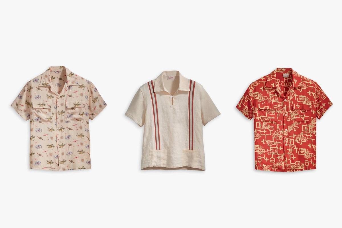 cdb50f00 Hawaiian Inspired Shirting With Levi's Vintage Clothing | Marcus Troy