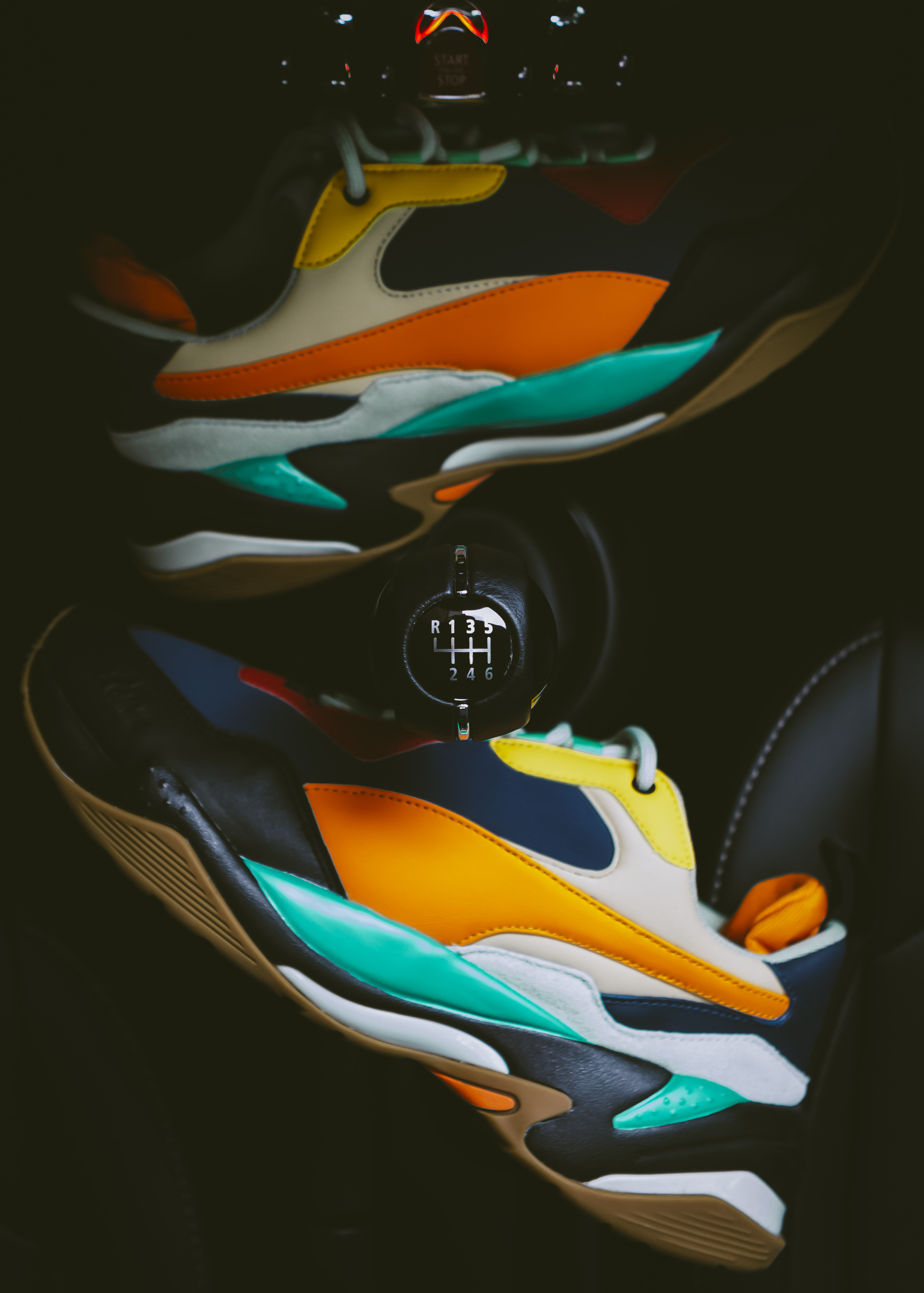 The PUMA x Atelier New Regime Thunder Sneaker  84671e1f9