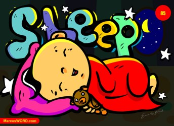 sleeping cartoon sleep bed drawing hours