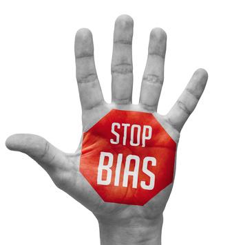 Stop bias sign