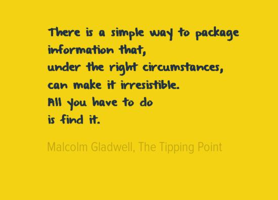 Making information irresistible