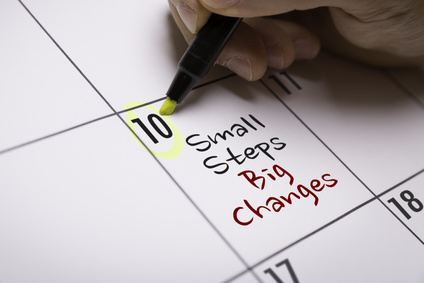 Small Steps Big Changes for client reports