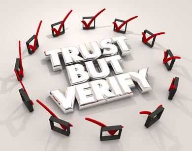 Trust, but verify