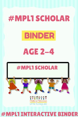 #MPL1 Interactive Binder Ages 2-4