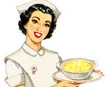 TASTES OF COMFORT - Nurse With Soup