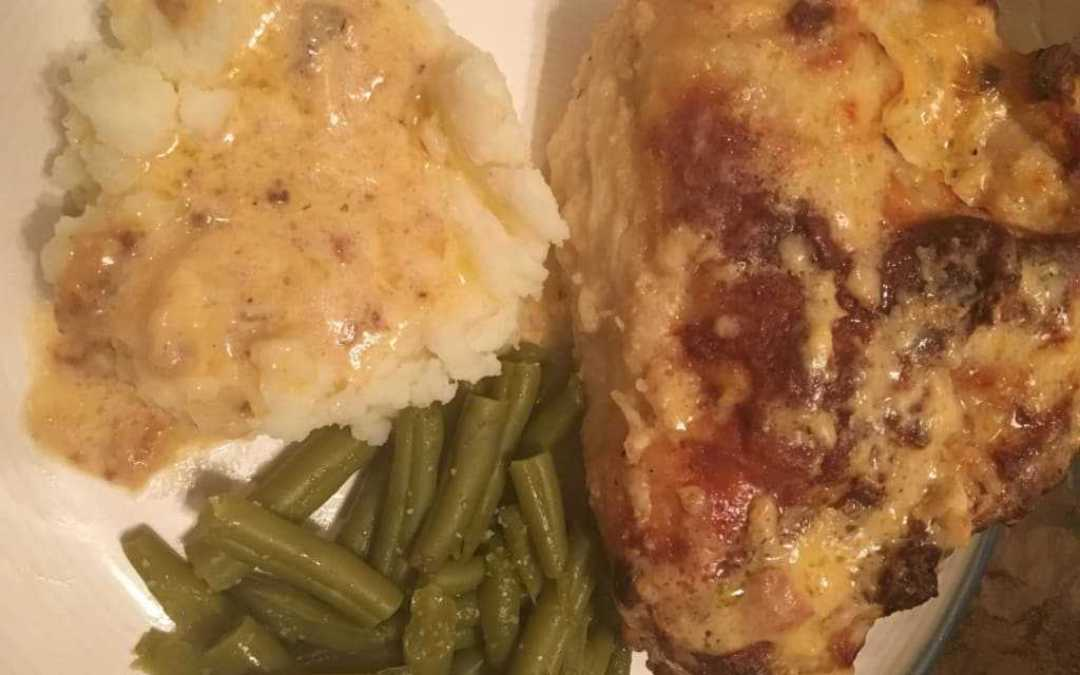 Butter-Baked Chicken and Gravy