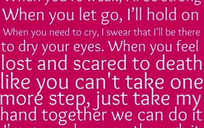 I'm Gonna Love You Through It