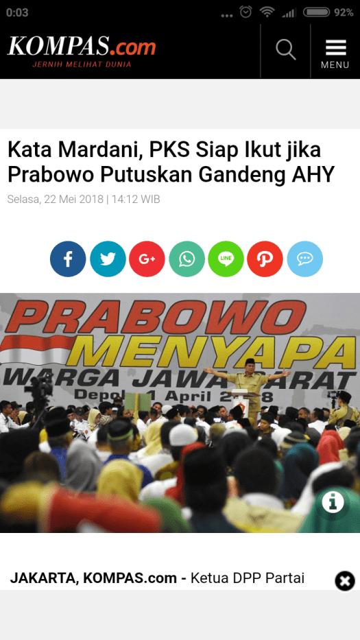 Demokrat Siap Png : demokrat, Mardani,, Prabowo, Putuskan, Gandeng, Mardani