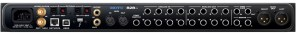motu 828es audio interface - back