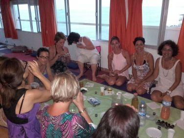1ª edición del taller Alma femenina en Mar de Yoga