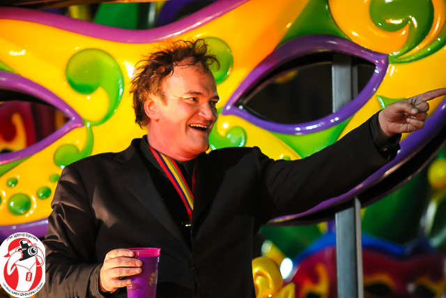 Quentin Tarantino in the Orpheus Parade