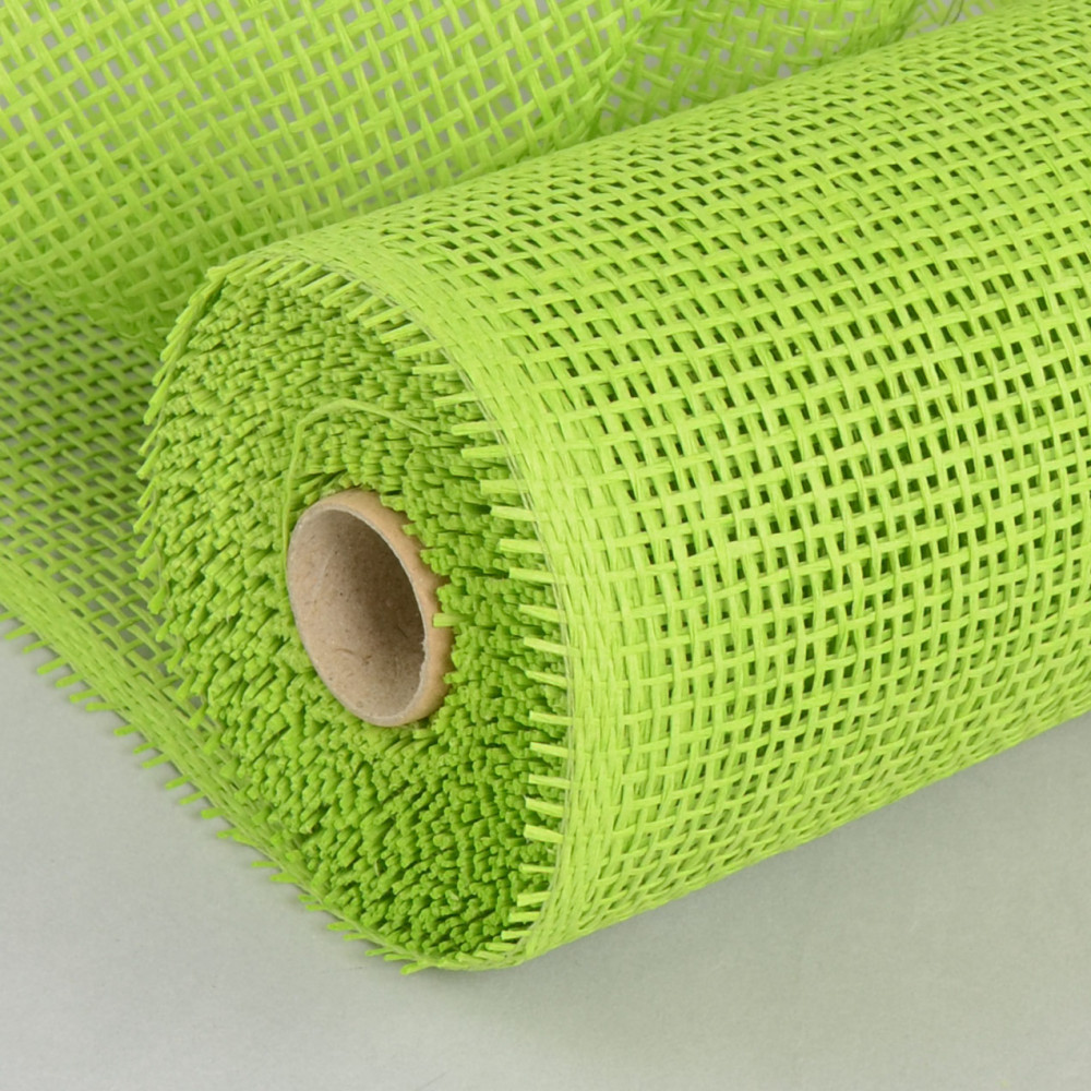 "10"" Paper Mesh Roll Lime Green (10 Yards) [rr800133"