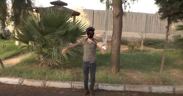Terörist bombayı kolundaki alçıda kamufle etmiş