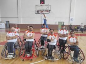 Kızıltepe engelli basketbol takımı Erzurum'u 57-45 yendi