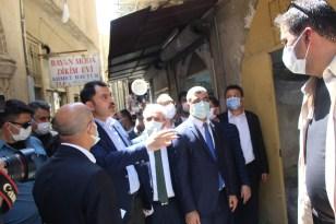 Çevre Şehircilik Bakanı Murat Kurum, Mardin'de esnafı ziyaret etti