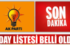 AK Parti Mardin Aday Listesi