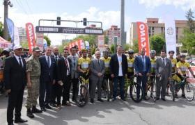 Medeniyetler şehrinde uluslararası pedallar yarıştı