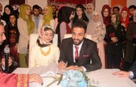 Dünya Kadınlar Günü'nde nikahları kıyıldı