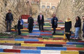 Nusaybin Kırsalındaki öğretmenler Mardin'i gezdi