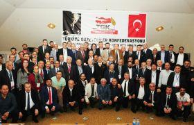 Türkiye Gazeteciler Konfederasyonu Kemer'de toplandı