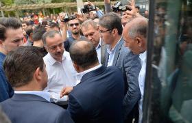 Emniyet müdüründen, HDP'li vekillere 'Öcalan' uyarısı
