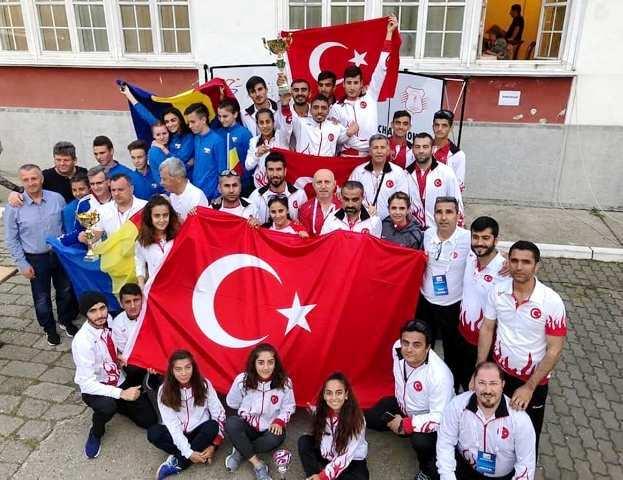 Balkan Şampiyonasında tüm madalyaları topladık