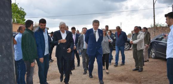 Büyükelçilerden Ahmet Türk'e ziyaret
