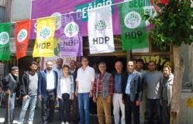 HDP Ömerli'de seçim Bürosu açtı