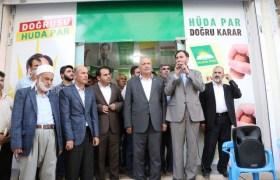 HÜDA PAR Kızıltepe'de   seçim irtibat bürosu açtı