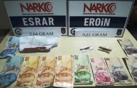 Emniyetten hırsızlık ve Uyuşturucu operasyonu