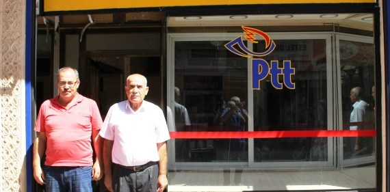Midyat'ta yeni PTT  Şubesi hizmete girdi