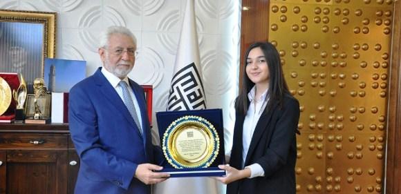 Artuklu Üniversitesine birincilik ödülü