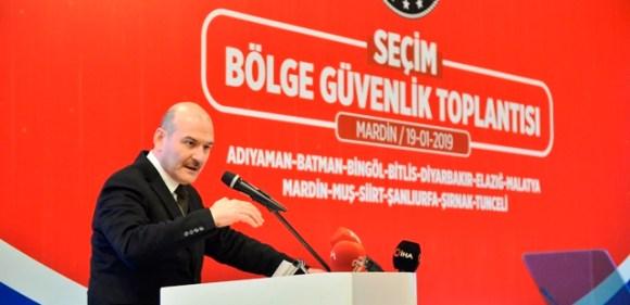 """Mardin'de """"Seçim Bölge Güvenlik Toplantısı"""""""
