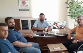 AK Parti İlçe Başkanı  Yücedağ'dan,  MUMDER'e ziyaret