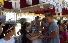Şehirler ve Kokular Festivaline Kızıltepe Dicle İlkokulu katıldı
