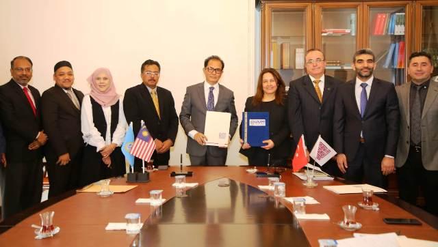 MAÜ'den UtaraMalaysia Üniversitesi ile Akademik İşbirliği