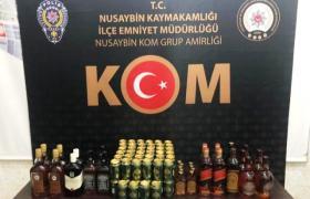 Kaçak içki ve uyuşturucu operasyonlarında 5 kişi tutuklandı