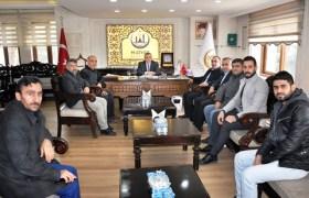 Tekstilciler'den  Başkan Şahin'e Ziyaret