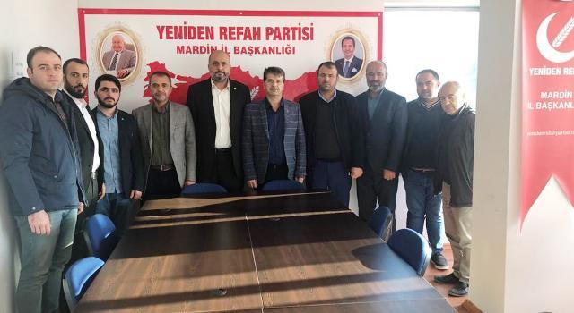 Hudapar'dan Yeniden Refah Partisi'ne ziyaret