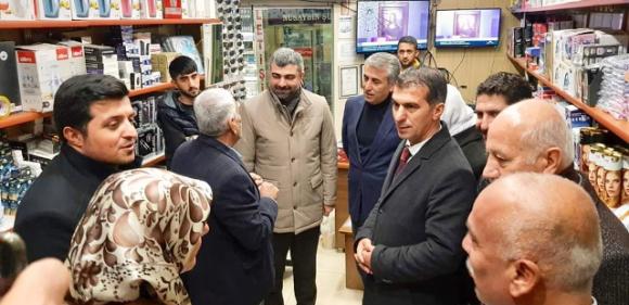 İl Başkanı Kılıç: Nusaybin  hak ettiği konuma ulaşacaktır
