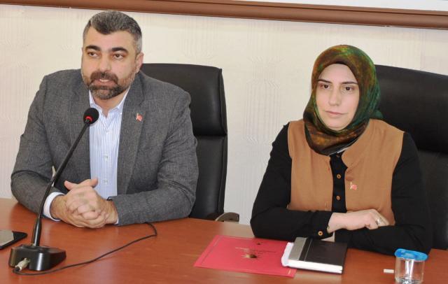 AK Parti Mardin Kadın  Kolları Başkanı Sancar  Görevine Başladı