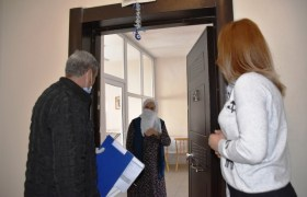 Nusaybin'de Vefa  Destek Grubu yaşlılar  için seferber oldu